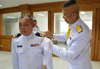 ผบ.กยพ.กร. เป็นประธานในพิธีประดับยศนายทหารสัญญาบัตร