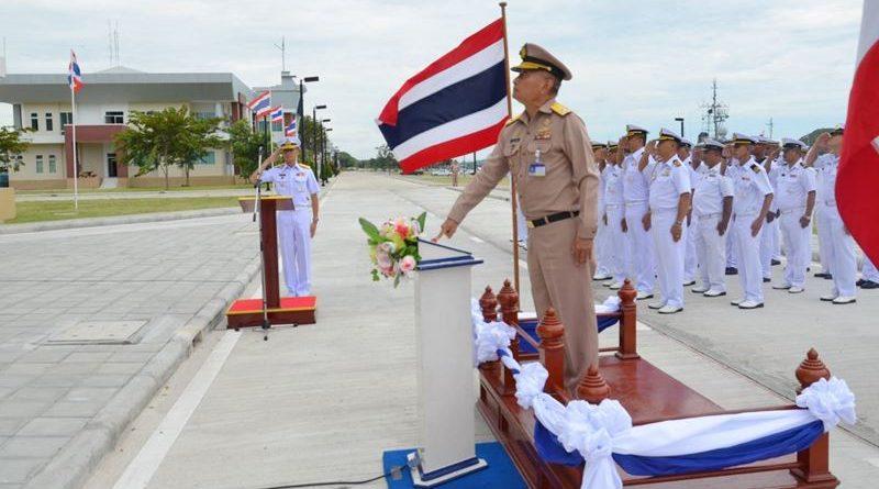 รองผู้บัญชาการกองเรือยุทธการ เป็นประธานในพิธีเปิดอาคารกองบัญชาการกองเรือยกพลขึ้นบกและยุทธบริการแห่งใหม่