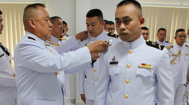 ผบ.กยพ.กร. เป็นประธานในพิธีเลื่อนยศนายทหารประทวนสังกัด กยพ.กร.