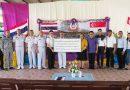 ผู้อำนวยการฝึกคอบร้าโกลด์20 ระดับกองทัพเรือ ส่งมอบโครงการชุมชนสัมพันธ์ (COMREL) ให้แก่โรงเรียนบ้านเนินดินแดง