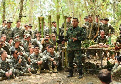 การฝึกดำรงชีพในป่า (Jungle Survival) ในการฝึกคอบร้าโกลด์ 20