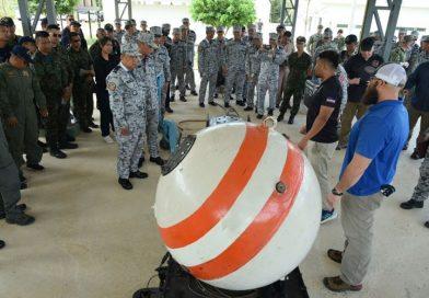 หมวดฝึกประดาน้ำและถอดทำลายอมภัณฑ์ (DRIVER&EOD) ฝึกแลกเปลี่ยนการเอ็กซเรย์ทุ่นระเบิด Mk-6 ในการฝึกคอบร้าโกลด์ 20