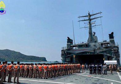 กยพ.กร. ส่งเรือสนับสนุนการฝึกภาคปฏิบัติทางใช้การในทะเลของ นรจ.ชั้นปีที่ 1 และ นรจ.ชั้นปีที่ 2 ประจำปีการศึกษา 2563
